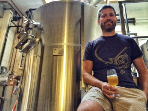 Threes Brewing's head brewer, Greg Doroski